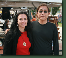 Kay and Andrew Begay.