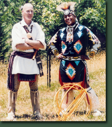 Danny Bigay (Left) and Lowery Begay (Right).